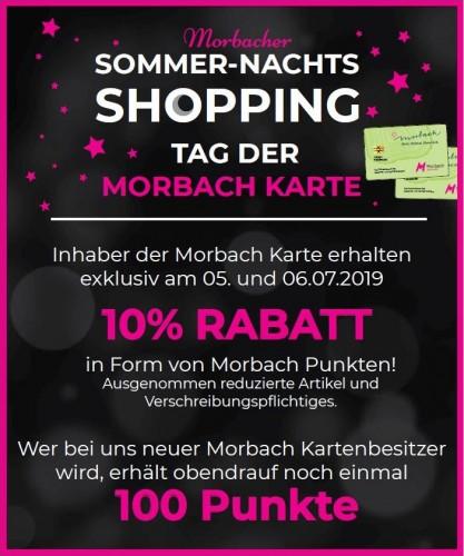 Sommernachts-Shopping im Juli 2019
